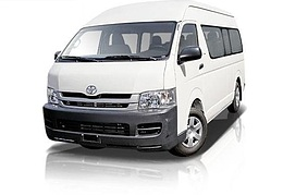 CBC Toyota Commuter - 11 seats + Driver