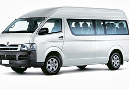 CBC Toyota Commuter - 13 seats + Driver